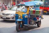 Tráfico en bangkok — Foto de Stock