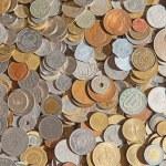 旧硬币 — 图库照片
