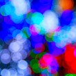 Stock Photo: Defocused ligths