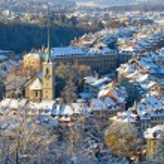 Bern in winter — Stock Photo