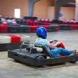 Indoor karting — Stock Photo #39128285