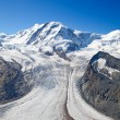 Stock Photo: Melting glaciers