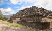 Borobudur temple in Indonesia — Foto de Stock