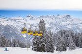 Invierno en los alpes — Foto de Stock