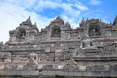 Borobudur temple in Indonesia — Stockfoto