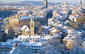 Bern im winter — Stockfoto