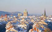Bern v zimě — Stock fotografie