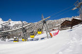 Inverno nos alpes — Fotografia Stock
