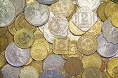 Monete del regno unito — Foto Stock