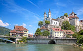 Aarburg castle — Stock Photo