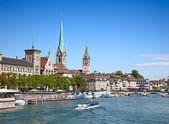 Zurigo in estate — Foto Stock