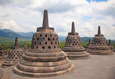 Borobudur temple in Indonesia — Photo