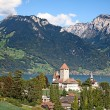 Spiez castle — Stock Photo #45928049