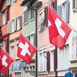 Swiss National Day in Zurich — Stock Photo #45928181
