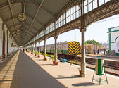 Maputo train station — Stock Photo