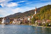 Oberhofen village — Stock Photo