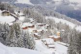 Ski Piste — Stockfoto
