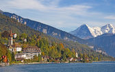 Lake Thun — Stock Photo
