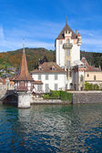 Oberhofen castle — Stock Photo