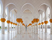 Sheikh Zayed mosque — Stock Photo