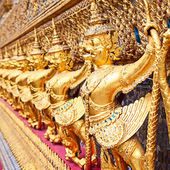 Temple of Emerald Buddha in Bangkok — Stock Photo