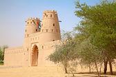 Jahili fort in Al Ain oasis — Stock Photo