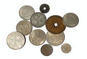 China Coins — Stock Photo