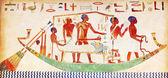 Hieróglifos na parede — Foto Stock