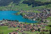 Small alpine lake — Stock Photo