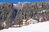 Zima v alpách — ストック写真