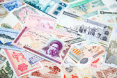 Foreign notes — Stock Photo