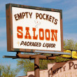Stock Photo: Arizon- Empty Pockets Saloon