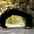 Black Hills tunnel — Stock Photo