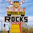 Stock Photo: Pow Wow Trading Post Rocks