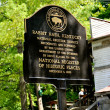 Rabbit Hash Historical Sign - Rising Sun — Stock Photo