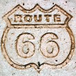 Route 66-1 — Stock Photo