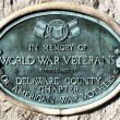Stock Photo: Cemetery Headstone - world war veterans