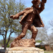 Hico Texas Brushy Bill Statue — Stock Photo