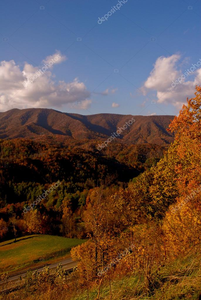 Asheville North Carolina Mountains  Stock Photo #12950458