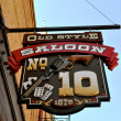 Stock Photo: Deadwood old style saloon 10