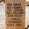 Dan Dowd Tombstone — Stock Photo