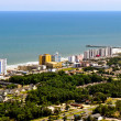 South Myrtle Beach - beachscape view-1 - Stock Photo