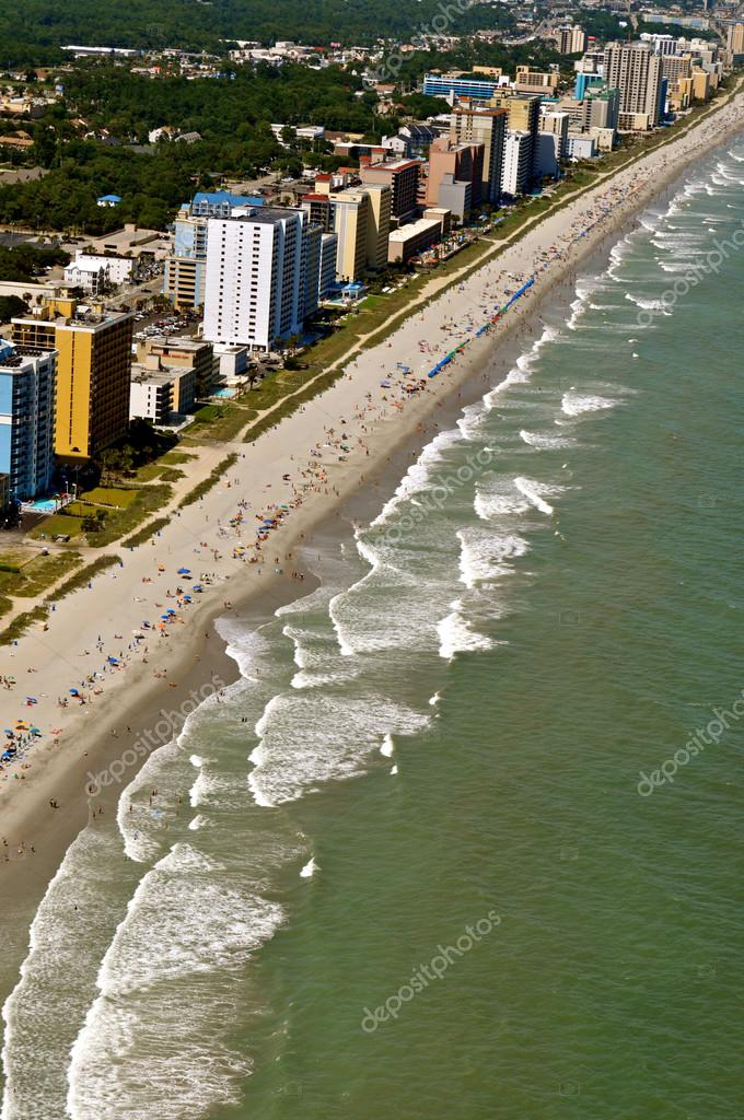 Myrtle Beach Coastline — Stock Photo #13134438