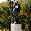 Charleston SC Confederate Defenders Statue — Stock Photo