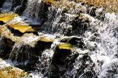 Chalk Ridge Texas Waterfall — Stock Photo