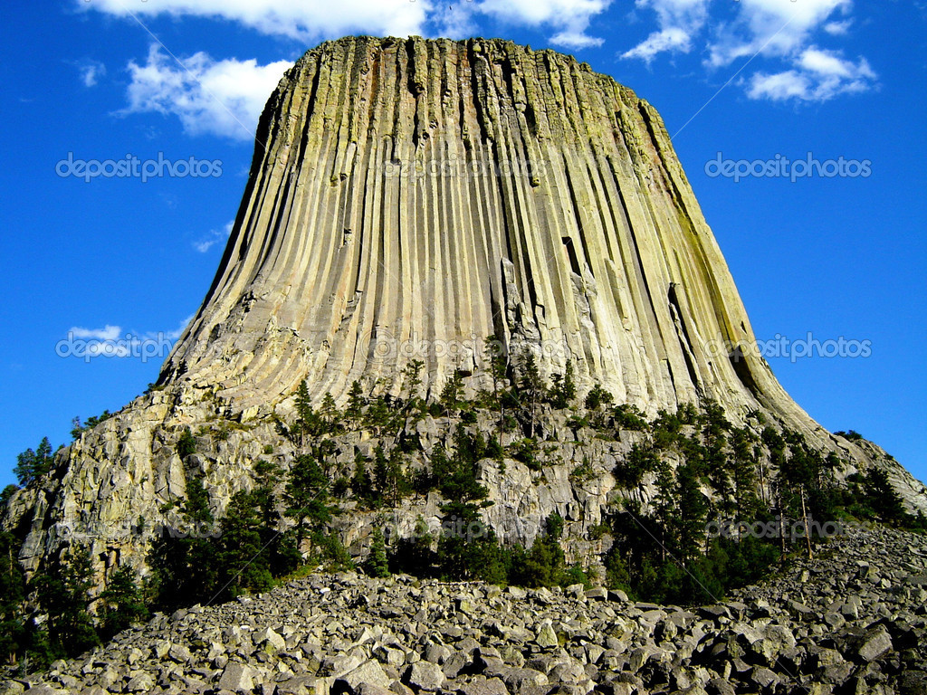 Devil's Tower — Stock Photo #13514257