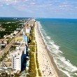 Myrtle Beach Coastline - Aerial View-1 - Stock Photo