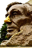 Abraham lincoln memorial - lincoln staart — Stockfoto
