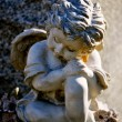 Gravesite - Angel on tombstone — Stock Photo #13889888