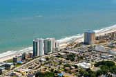 Myrtle Beach Coastline - City View-1 — Стоковое фото